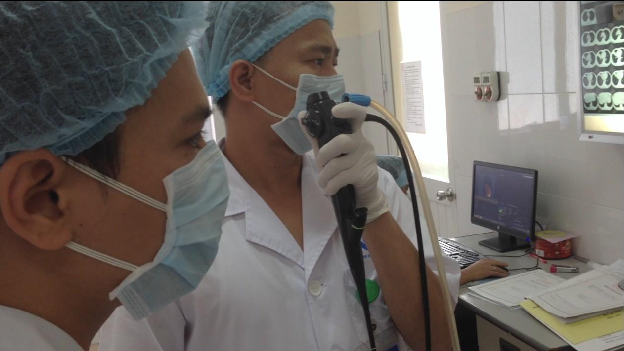 Cắt u nội khí phế quản bằng điện đông cao tần tại Bệnh viện Phổi Hà Nội