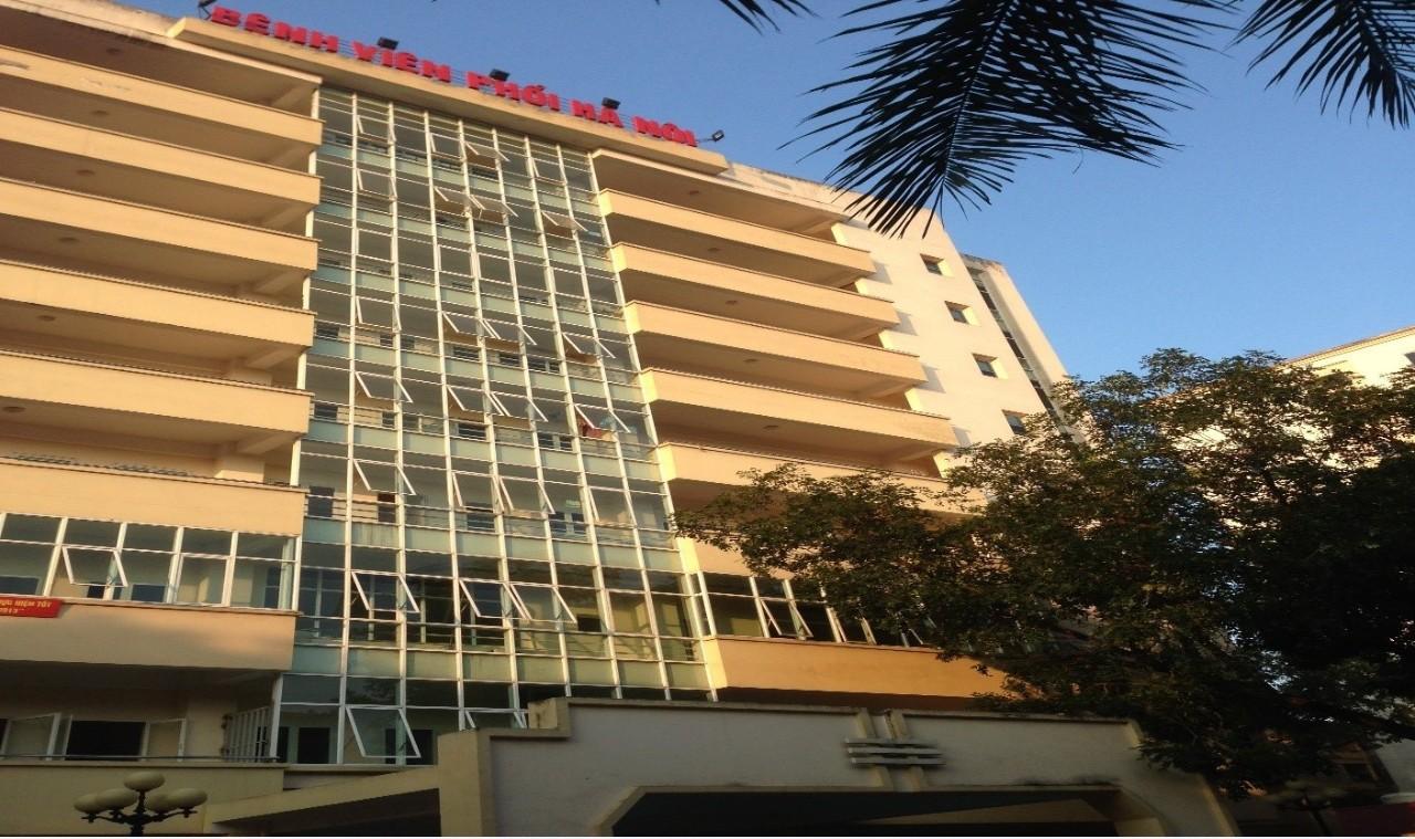Bệnh viện Phổi Hà Nội - Khu điều trị nội trú nhà 9 tầng